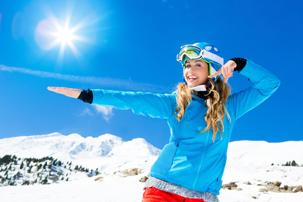jak chronić oczy zimą