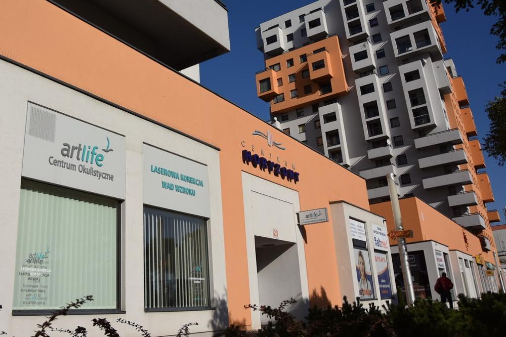 Lokalizacja centrum okulistycznego ArtLife
