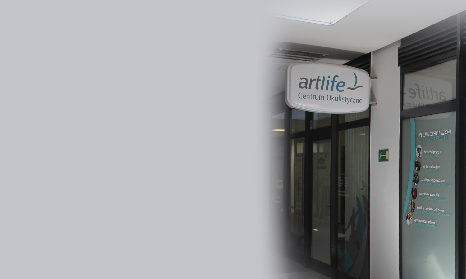 ArtLife Ophthalmologic Centre  Laser vision correction surgery  - Medical staff experience - Innovative technology - New generation equipment